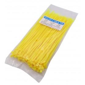 بست کمری زرد 3x150mm بسته100 تایی