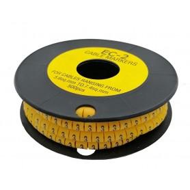 شماره کابل حلقوی عدد 1 سایز EC-2 رول500 تایی