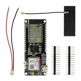 برد توسعه TTGO دارای هسته وای فای ESP32 و Sim800L