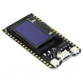 برد توسعه ESP32 با نمایشگر OLED دارای بلوتوث و وایفای داخلی و مبدل CP2102