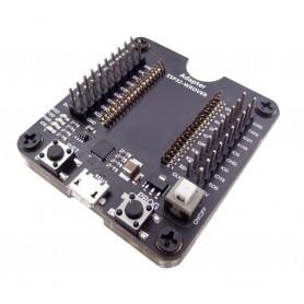 پروگرامر برد ESP32-WROVER با مبدل TTL به CP2104 USB