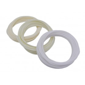 فیلامنت 10متری پرینتر 3 بعدی PLA قطر 1.75mm سفید P705
