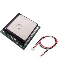 ماژول Ublox7 GPS دارای ارتباط سریال همراه با آنتن