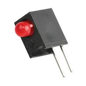 LED قابدار تکی قرمز ر ایت 3mm بسته 10 تایی