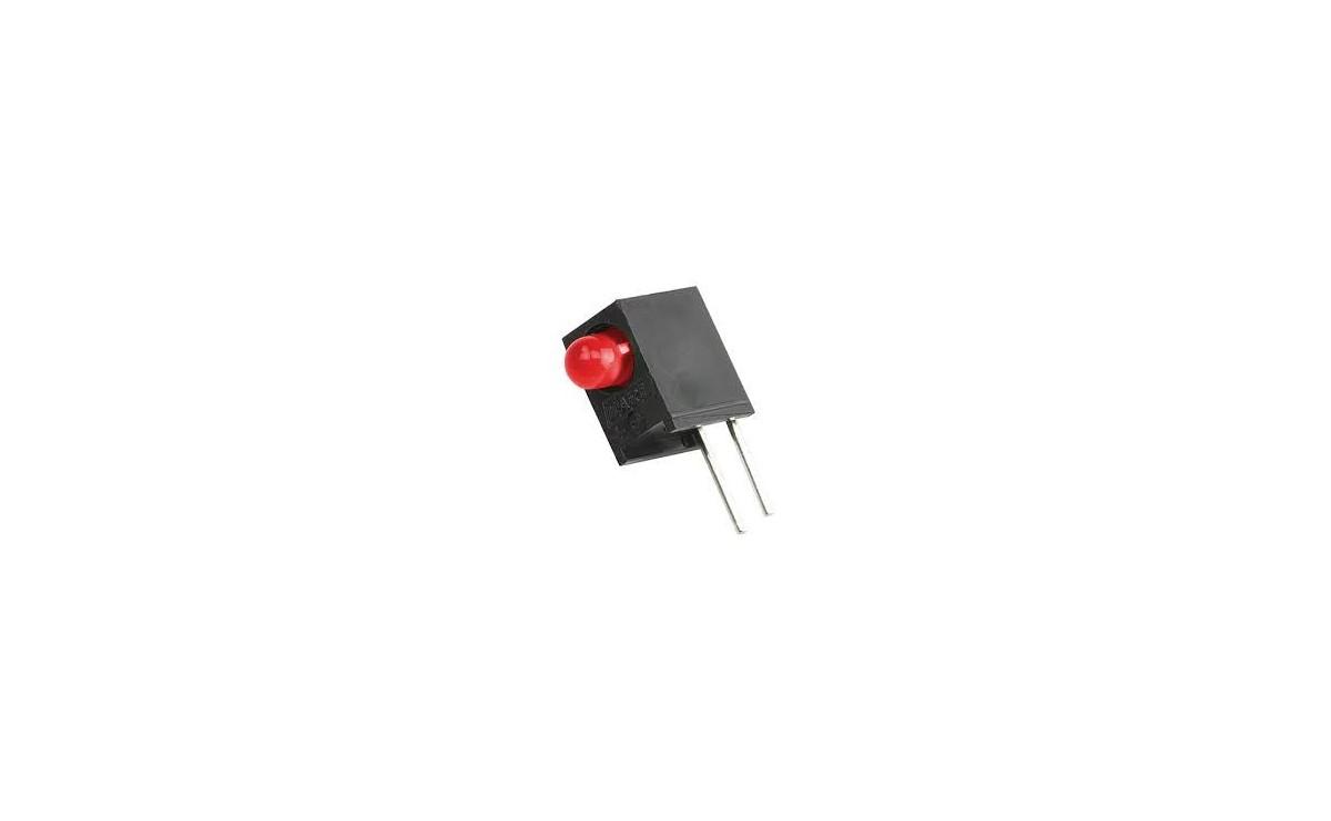 LED قابدار تکی قرمز رایت 3mm