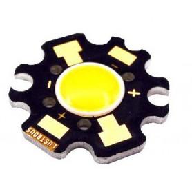 LED COB سفید مهتابی 3W-6V مدل LUSTROUS 5NWAGB
