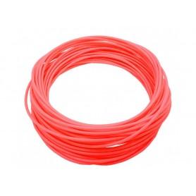 فیلامنت 10متری پرینتر 3 بعدی PLA قطر 1.75mm نارنجی Luminous