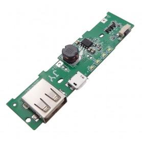 ماژول ساخت پاوربانک Fast Charge دارای خروجی 5V 2.1A USB مناسب برای کیس های XiaoMi