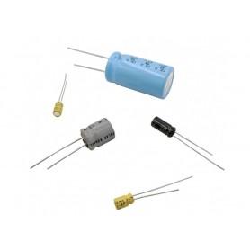 خازن الکترولیتی بدون پلاریته 2.2uF / 35V ژاپنی مارک ELNA