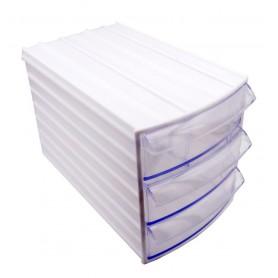 جعبه قطعات کشویی سه طبقه 190x110x130mm