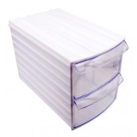 جعبه قطعات کشویی دو طبقه 190x110x130mm