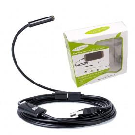 دوربین ( آندوسکوپ ) 1.3 مگاپیکسل لنز 7mm کابل 5 متر ارتباط USB سازگار با ویندوز و اندروید