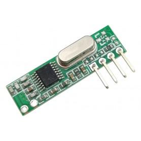 گیرنده سوپر هتروداین با مدولاسیون ASK و فرکانس کاری 433MHZ با جریان مصرفی بسیار پایین