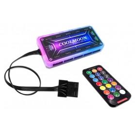 ست کنترلر فن RGB مارک COOLMOON