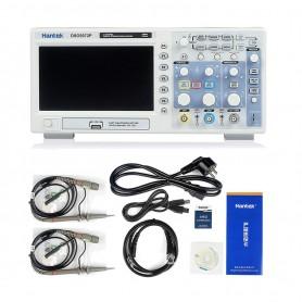 اسیلوسکوپ دیجیتال دو کانال HANTEK DSO5072P