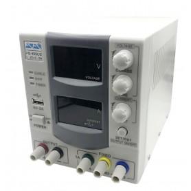 منبع تغذیه دیجیتال 0 تا 40 ولت 5 آمپر آداک ADAK مدل PS-405U2F