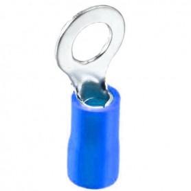 سر سیم گرد روکش دار آبی مدل RV2-5 بسته100تایی