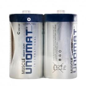 باتری بزرگ سایز C دوتایی مارک Unomat