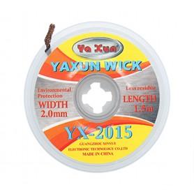 سیم قلع کش 1.5m عرض 2mm یاکسون YAXUN مدل YX-2015