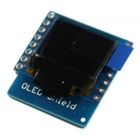 شیلد نمایشگر OLED برد Wemos Mini D1