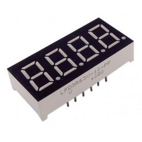 سون سگمنت 4 دیجیت 0.36 اینچ زرد آند مشترک کد LFD3R63V