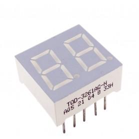 سون سگمنت 2 دیجیت 0.36 اینچ زرد کاتد مشترک کد TOD-3261