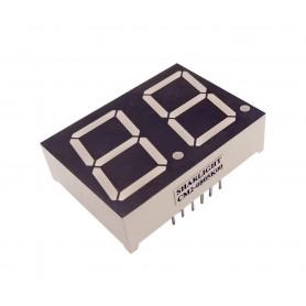 سون سگمنت مالتی پلکس 2 دیجیت 0.8 اینچ قرمز کاتد مشترک کد CM2-0805