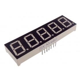 سون سگمنت 5 دیجیت 0.56 اینچ قرمز کاتد مشترک کد BV-N546