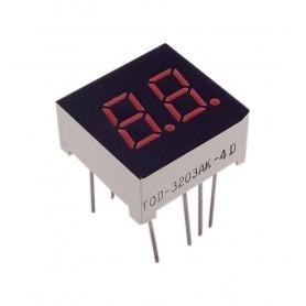 سون سگمنت 2 دیجیت 0.3 اینچ قرمز کاتد مشترک کد TOD-3203