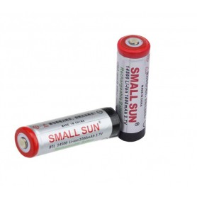باتری لیتیوم یون 3.7v سایز 14500 1000mAh مارک Small Sun