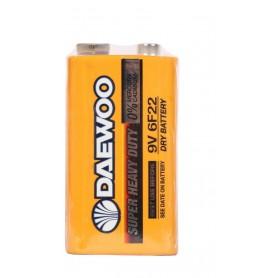 باتری کتابی 9 ولت Super مارک Daewoo