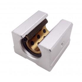 بلبرینگ خطی بلوکی شیاردار SBR12UU سایز 12mm مناسب پرینترهای سه بعدی