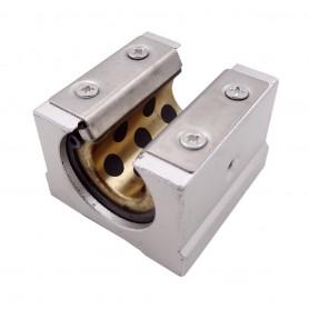 بلبرینگ خطی بلوکی شیاردار SBR16UU سایز 16mm مناسب پرینترهای سه بعدی