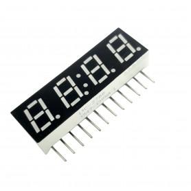 سون سگمنت 4 دیجیت ساعتی ایستاده 0.28 اینچ آبی کاتد مشترک کد LTC-2786TBE