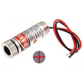 لیزر قرمز 5mW بالنز متغیر ضربدری SYD1230