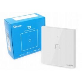 کلید تک پل هوشمند لمسی SONOFF T1 با قابلیت کنترل از طریق WiFi و ریموت 433MHz