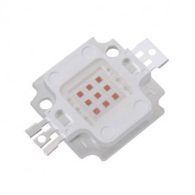 LED پاور 10W صورتی 30V