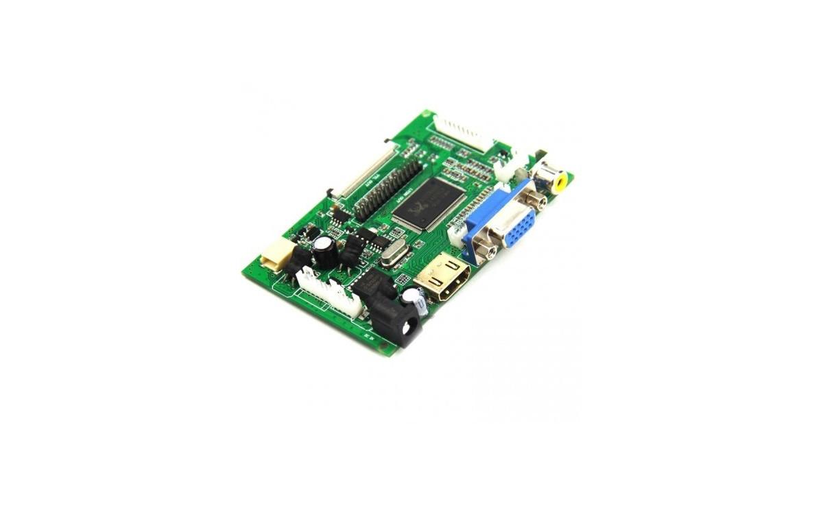 برد درایور LCD های 7 الی 10.1 اینچ با ورودی HDMI / VGA / AV