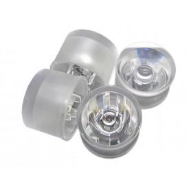 لنز و هولدر یکپارچه LED 45^ 20mm