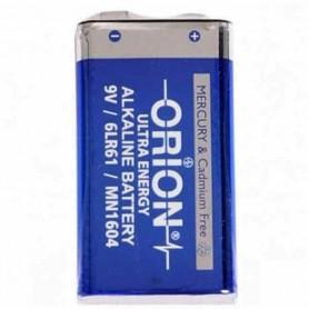 باتری کتابی 9 ولت آلکالاین مارک ORION