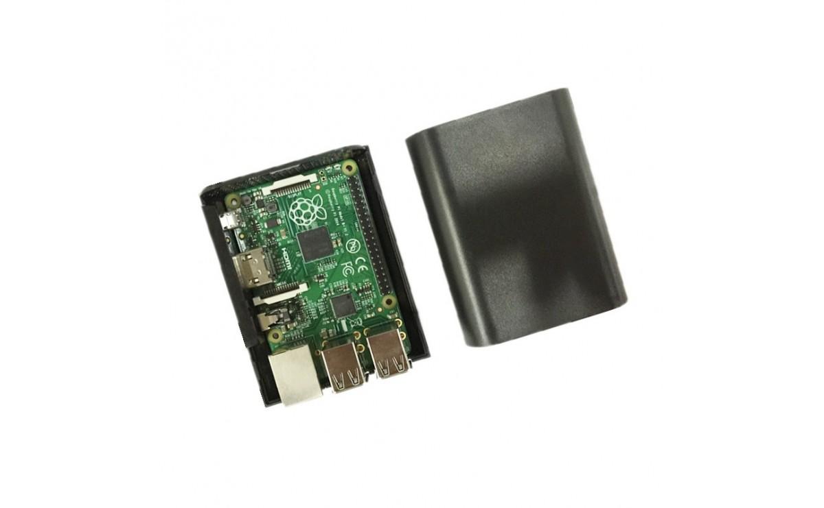 کیس - جعبه مشکی برد Raspberry مدل PI 3 و PI 2