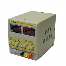 منبع تغذیه دیجیتال 0 تا 15 ولت 2 آمپر یاکسون YAXUN مدل +PYI-1502DD