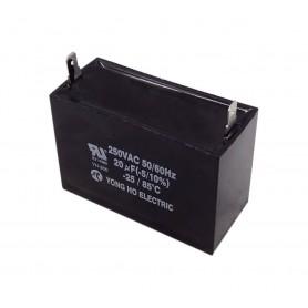 خازن 20uF / 250V کره ای دائم کار موتور AC