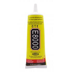 چسب چند کاره بی رنگ GSE مدل E-8000 حجم 110ml