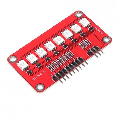 ماژول LED RGB خطی 8 تایی مدل k845041