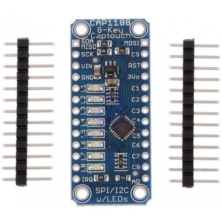 ماژول سنسور تاچ خازنی 8 تایی CAP1188
