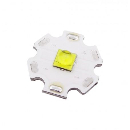 LED CREE سفید مهتابی 10W به همراه هیت سینک