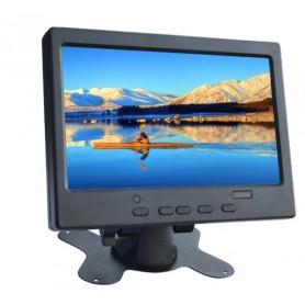 نمایشگر 7 اینچ دارای ورودی VGA+AV+HDMI به همراه کنترل
