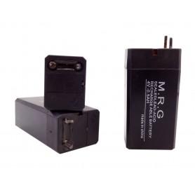 باتری خشک 4 ولت 500 میلی آمپر ساعت مارک M.R.G