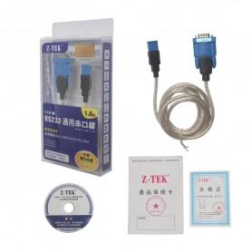مبدل USB به سریال Original Z-TEK USB To RS232 COM پشتیبانی از ویندوز 8/10